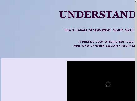 Understanding the 3 Levels of Salvation review