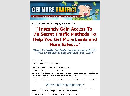 Get More Traffic review