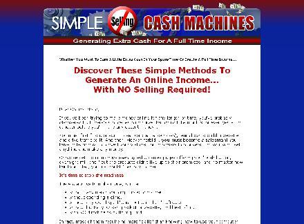 Simple Cash Machines review