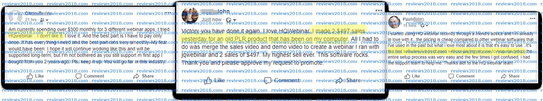 HQWebinar Review