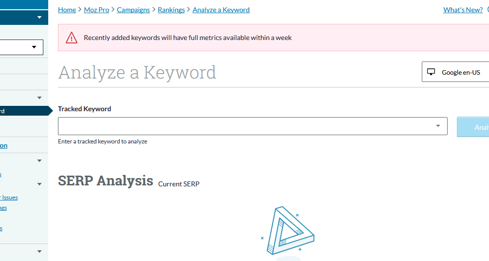 analyzeakeyword