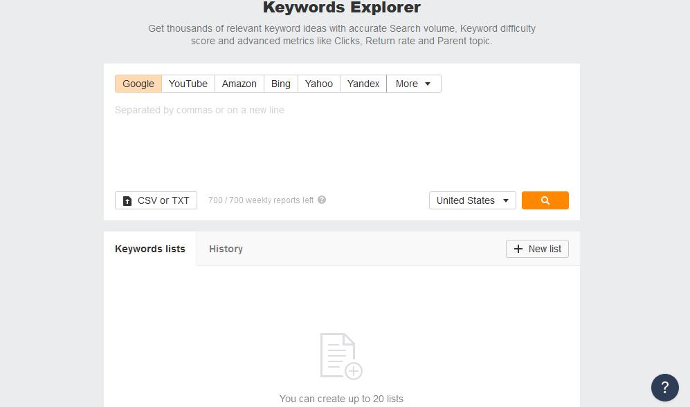 keywordsexplorer